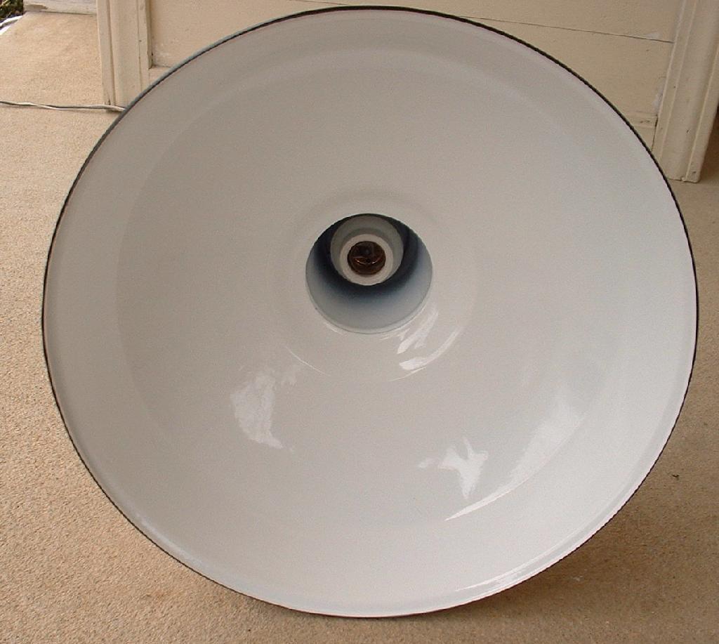 Appleton Light Vintage Industrial: Vintage Appleton Porcelain Light Shade PEPSI COLA Lamp
