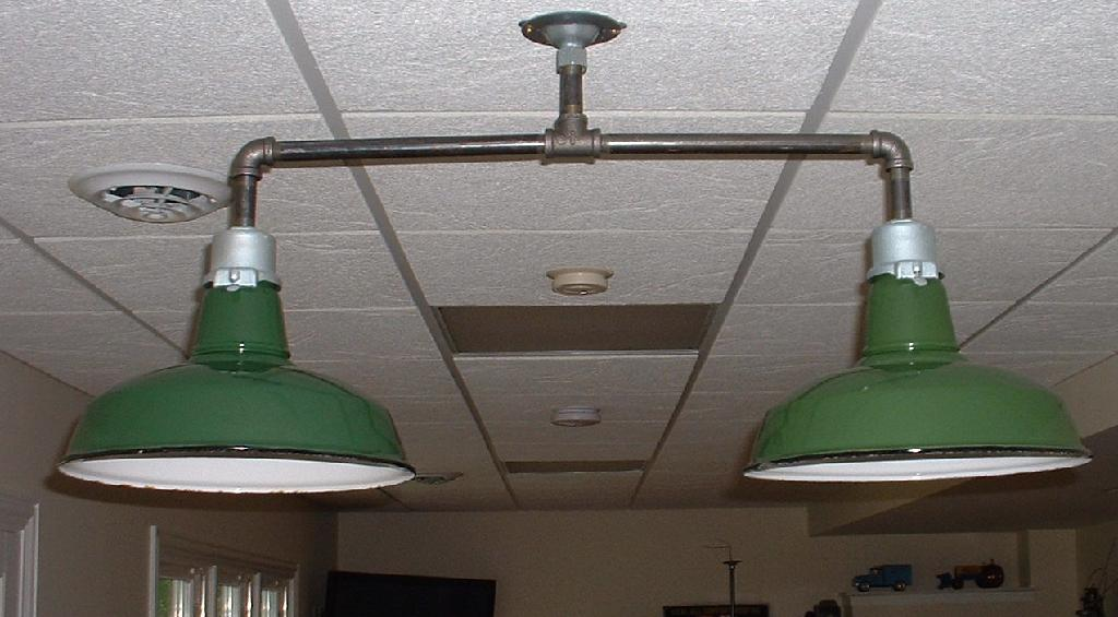 Green Porcelain Kitchen Island Light Fixture Pool Table
