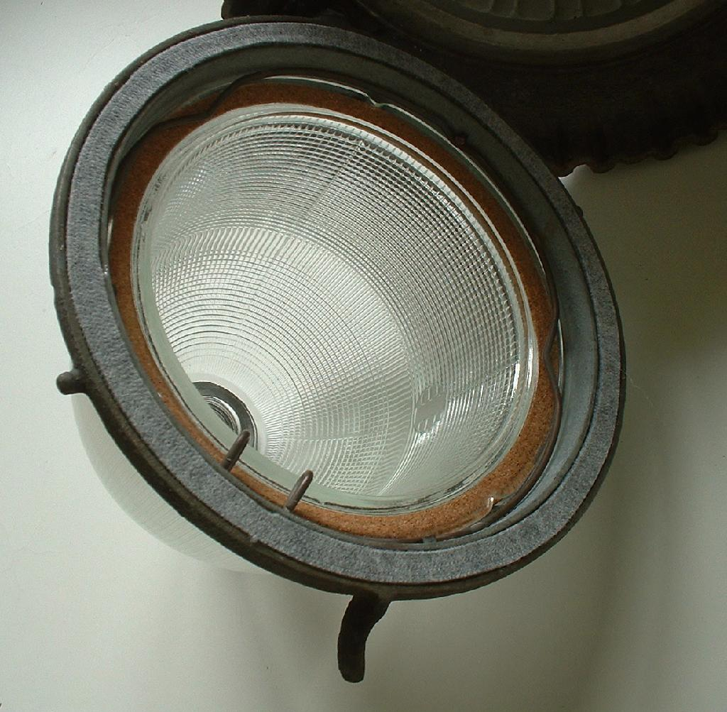 1930s Line Material Street Light Industrial Warehouse L-M