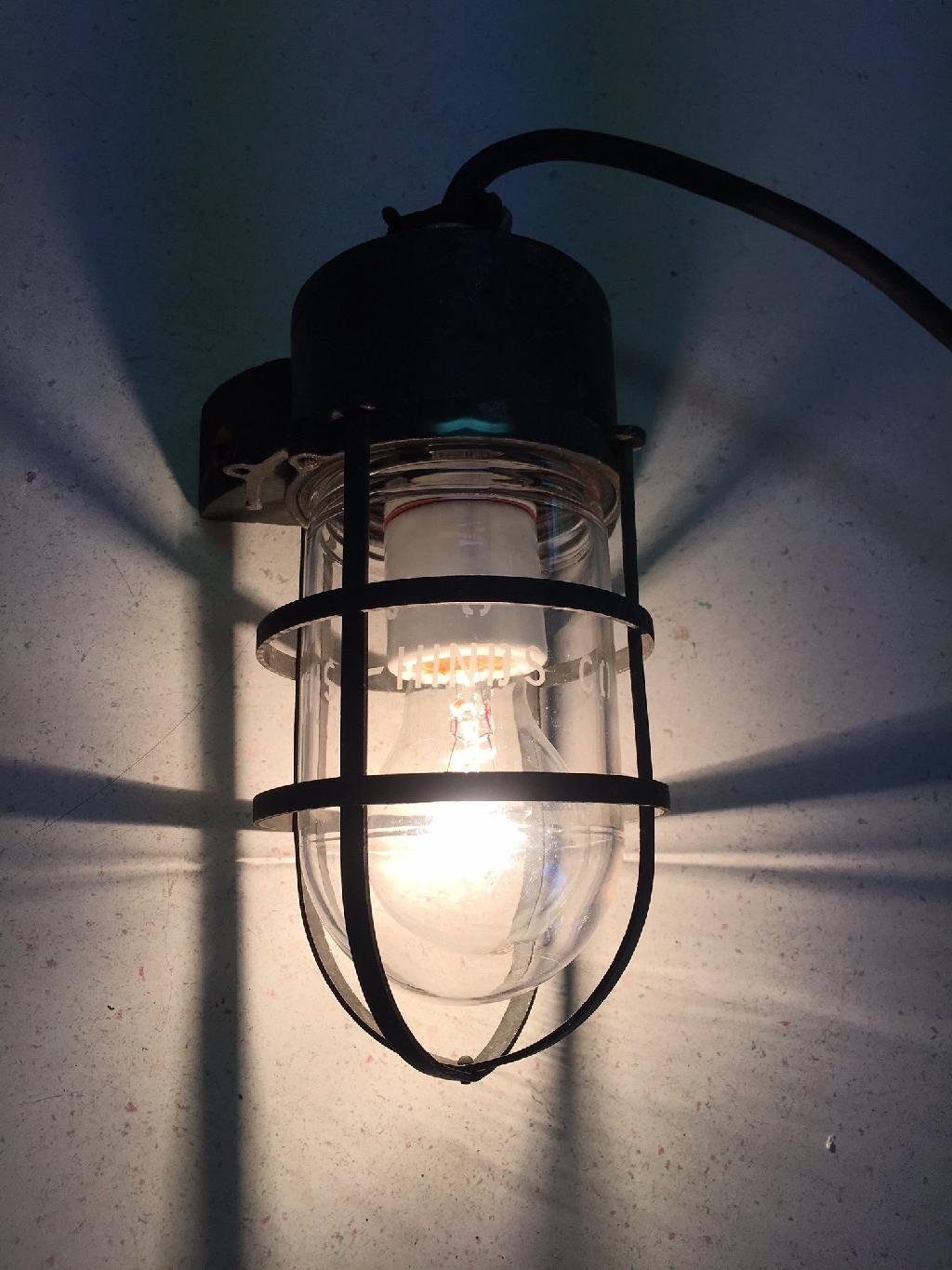 1920s crouse hinds explosion proof vintage industrial wall sconce 1920s crouse hinds 100 watt explosion vintage industrial wall sconce light arubaitofo Choice Image